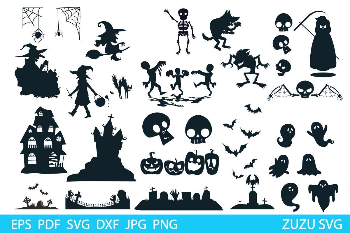 HALLOWEEN SVG, Halloween Clipart Bundle, Halloween vector