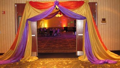 Party People Celebration Company - Custom Balloon decor and Fabric Designs Cypress Creek Arabian Nights Prom 2011 Sheraton Safari Hotel Orlando & Party People Celebration Company - Special Event Decor Custom ...