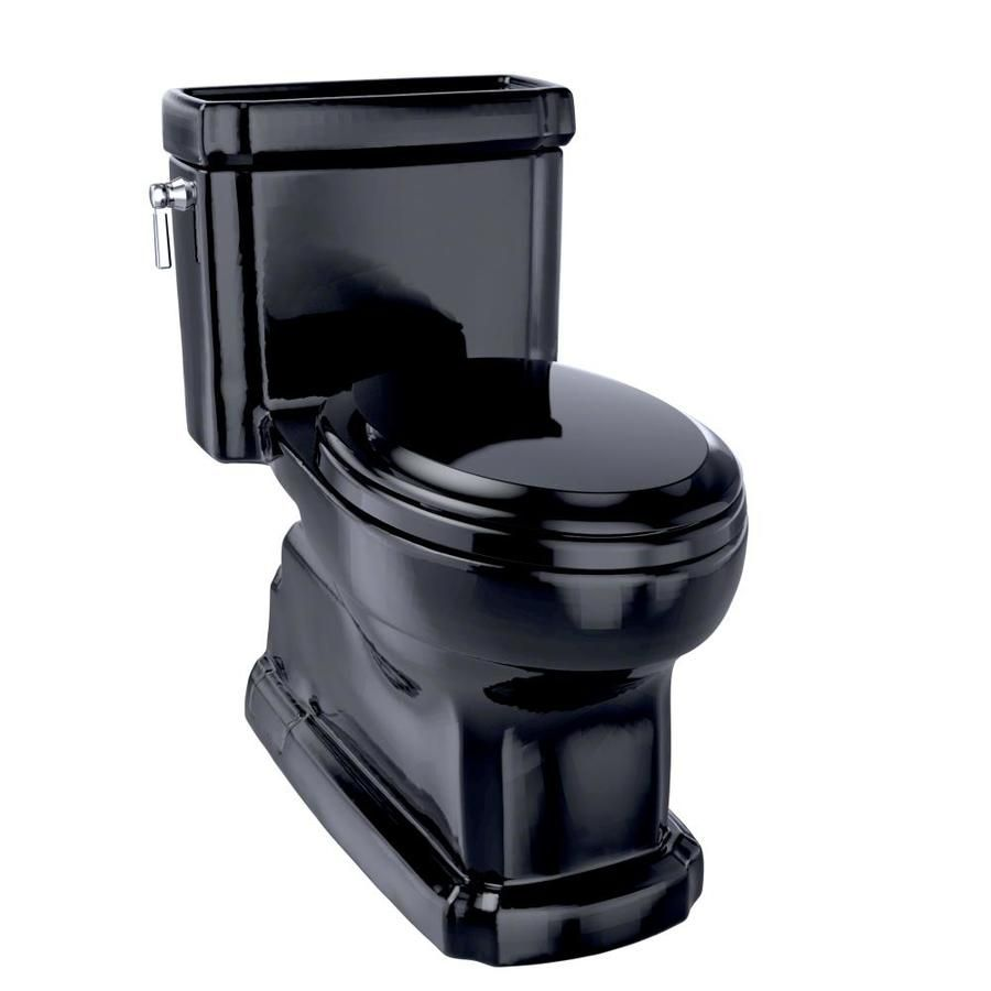 Toto Eco Guinevere Ebony Watersense Elongated Chair Height Toilet 12 In Rough In Size Ms974224cef 51 In 2020 Toto China Toilet One Piece Toilets