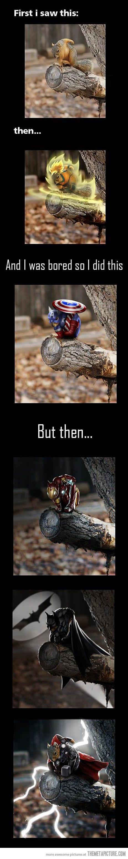 Superhero Squirrel