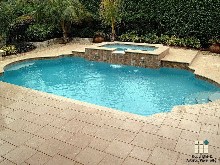 Shellock Atlantic Series Pavers And Coping In The Color