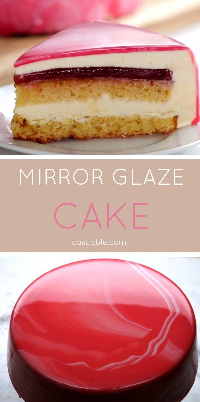 mirror glaze recept