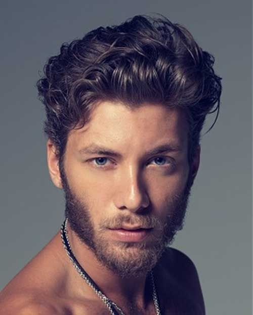 Curly Wavy Hair For Men Jpg 500 623 With Images Curly Hair