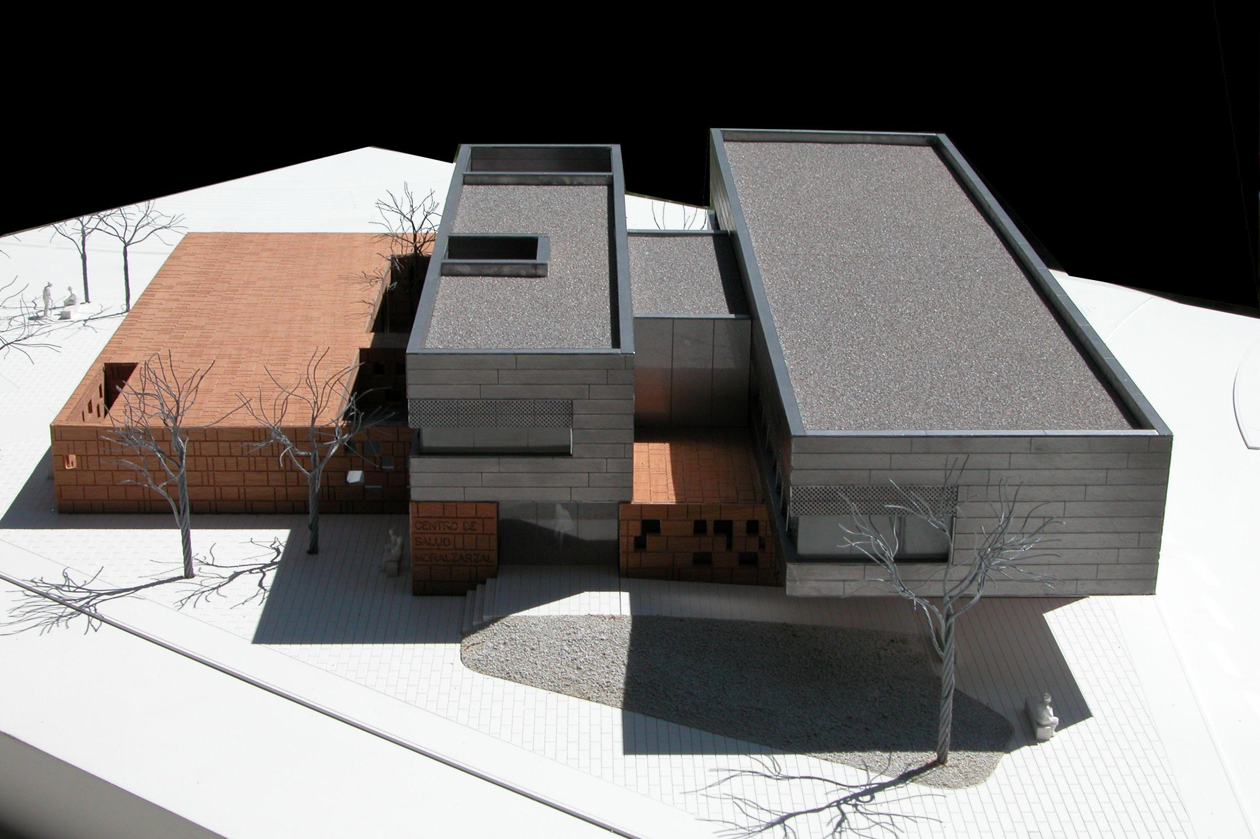 Maqueta de arquitectura realizada en zinc madera y pvc for Arquitectura de madera