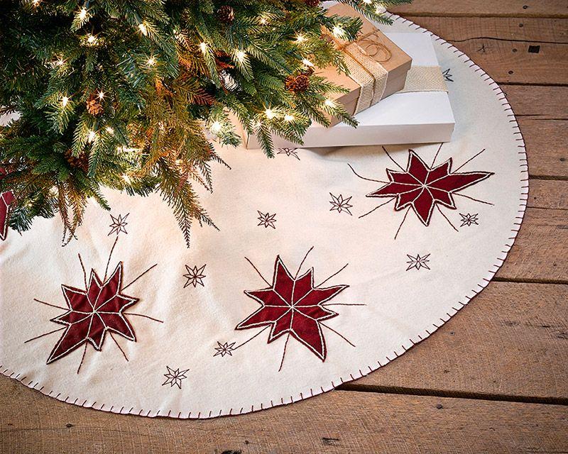 North Star Christmas Tree Skirt 48 Christmas Tree Skirt Xmas Tree Skirts Christmas Tree Skirts Patterns