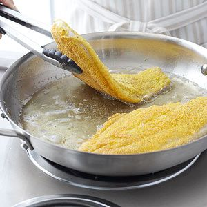 How to fry fish beer southern fried catfish and fish fry for Southern fish fry batter