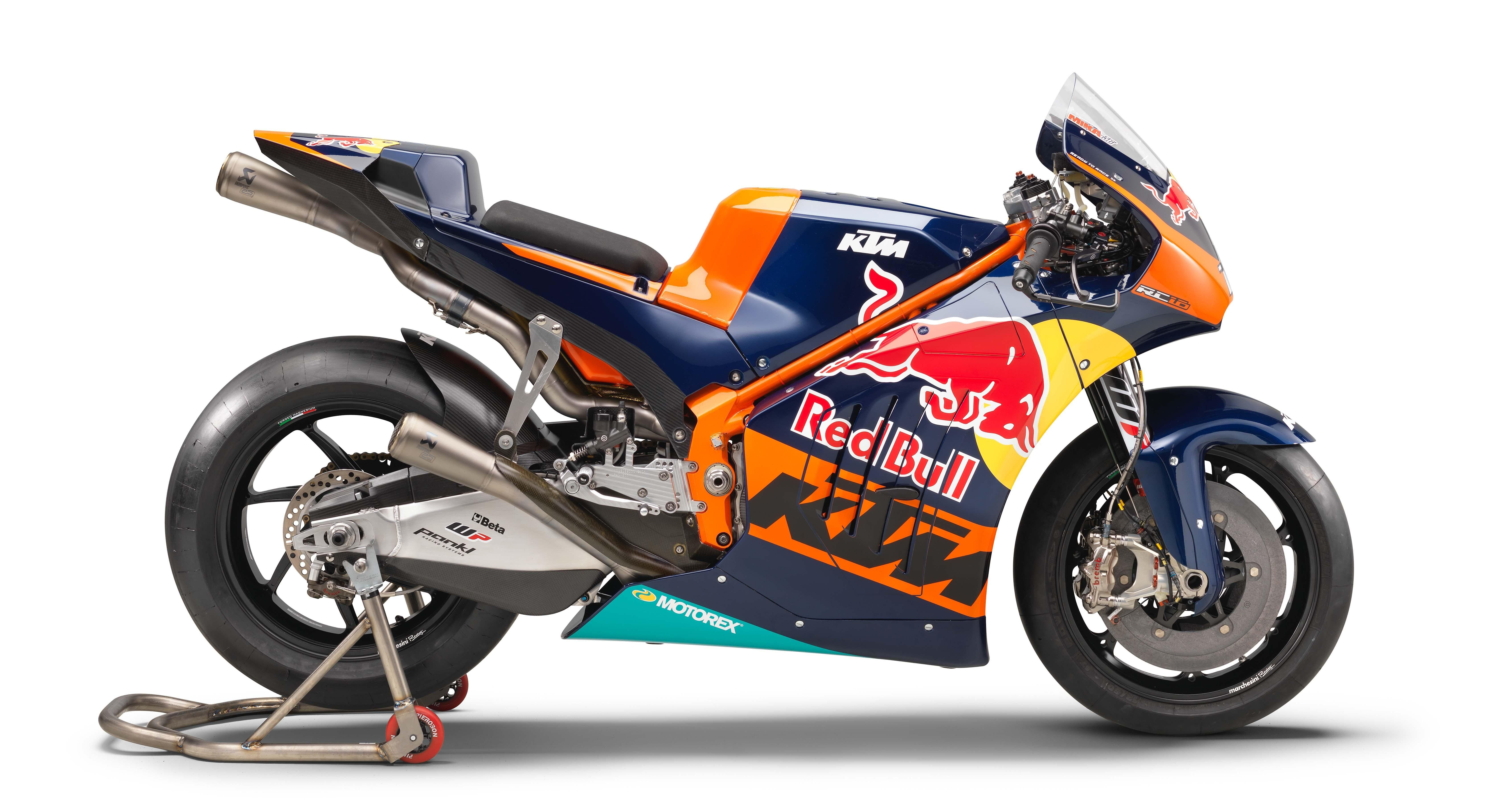 I See Your Rcv And Raise You A Ktm Rc16 Red Bull Hd Wallpaper From