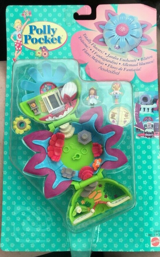 Polly Pockets For Sale: Vintage Polly Pocket Totally Flowers Boutique 1998