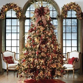 Fancy Christmas Tree Christmas Pinterest Christmas Tree Christmas Interiors Christmas Tree Themes