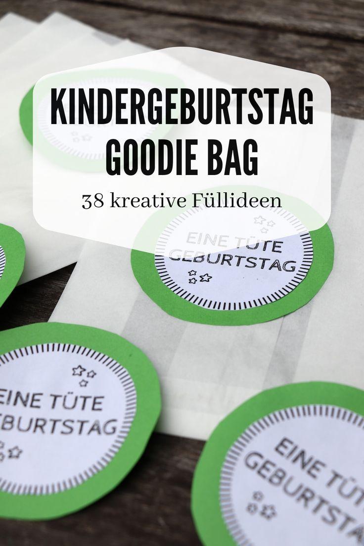 Photo of DIY: Kindergeburtstag-Mitgebseltüten basteln inkl. 38 Ideen für die Füllung – Lavendelblog