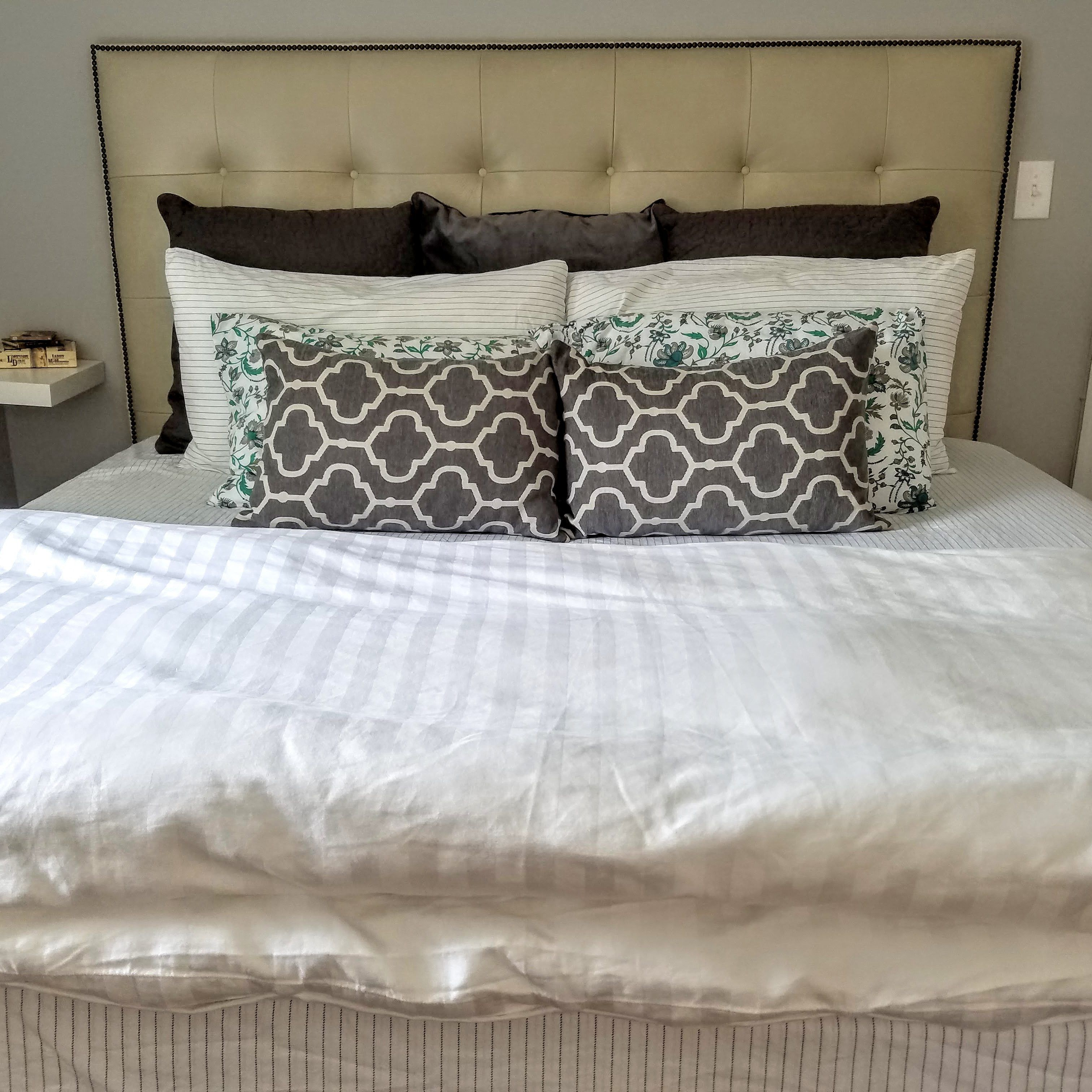 short term rental property service Bed pillows, Home