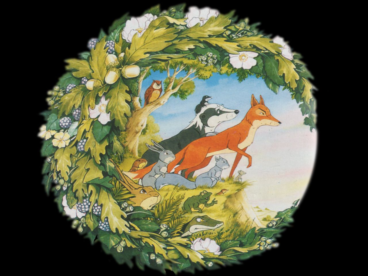 The Animals of Farthing Wood 90's cartoon I watched every
