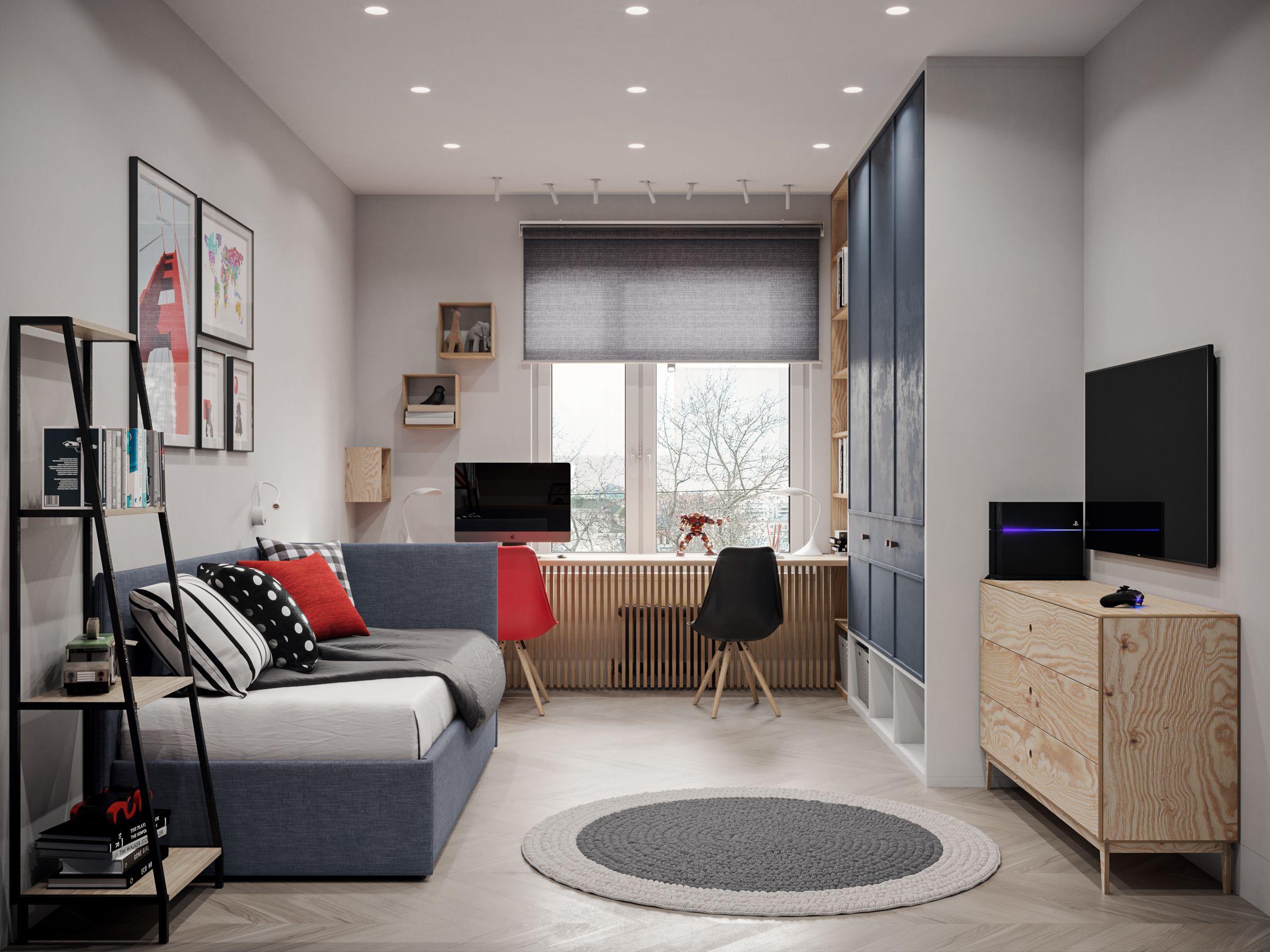 Marshal Zakharov On Behance With Images Boy Bedroom Design Home Office Design Interior Design Living Room