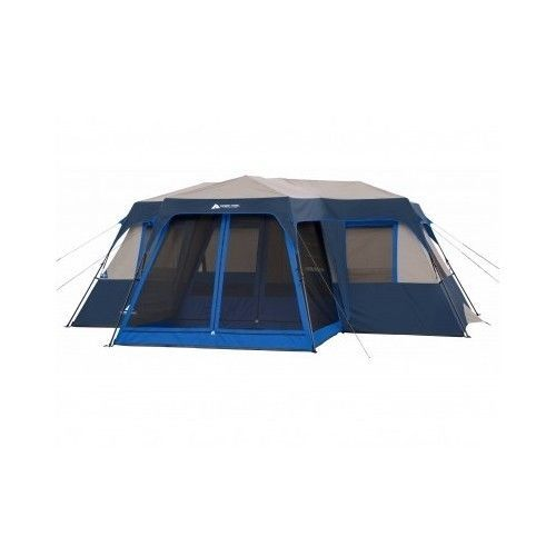 Camping Tents With Screened Porch Family Cabin Tent 12 Person 2 Room Xl Large