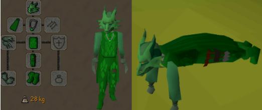 Osrs green dragons