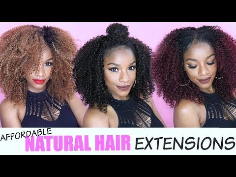 Natural hair extensions 5 easy affordable ways ft outre big b39d7327c99149697450b07aeeabceaag pmusecretfo Images