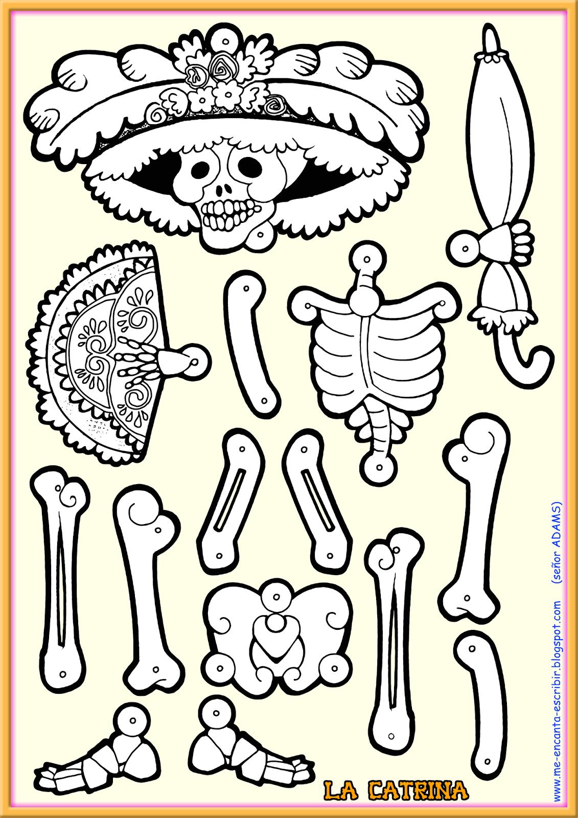 Me Encanta Escribir Es Un Sitio Para Que Mis Alumnos Puedan Aprender Y Revisar En Casa El Espan Dibujo Dia De Muertos Dia De Muertos Actividades Dia De Muertos