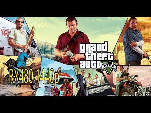 GTA5 RX480 1440p FRAMETEST YouTube Gta pc, Gta 5 pc