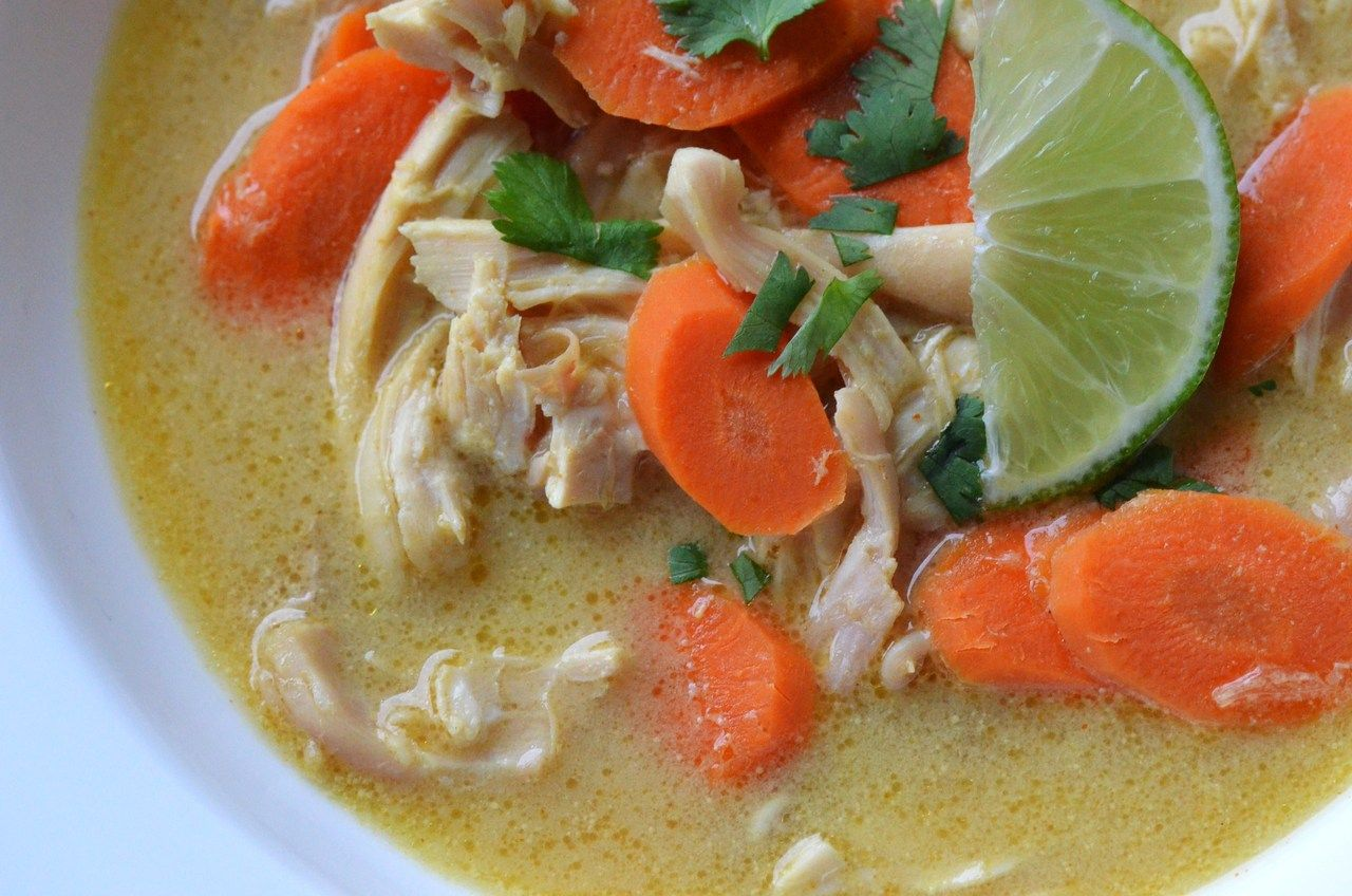 Coconut lime chicken soup this is what were tango