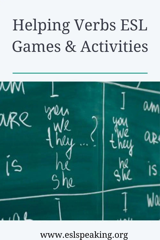 Helping Verb Activities Games Worksheets Lesson Plans Helping Verbs Activities Helping Verbs Teaching English Online [ 1500 x 1000 Pixel ]