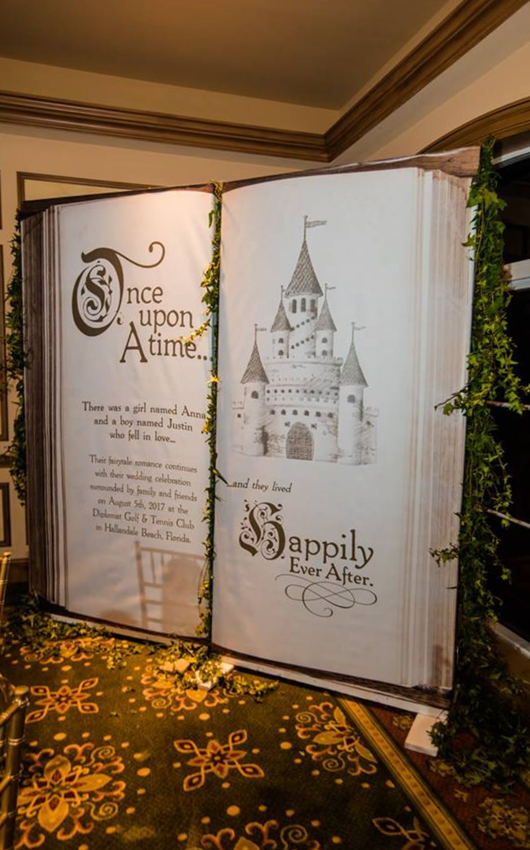 Wedding Backdrop Fairytale Castle For Ceremony Decor Or
