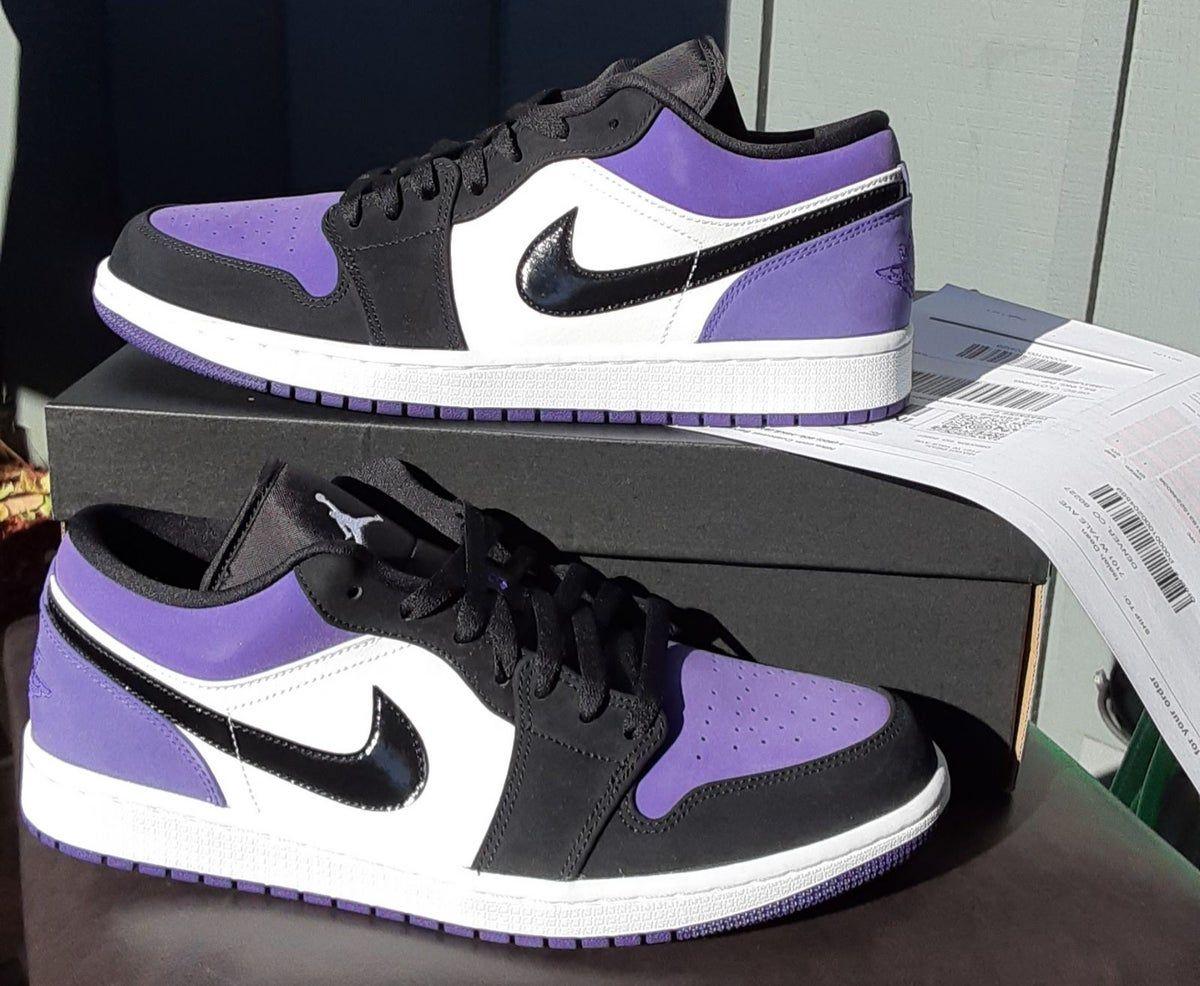 air Jordan retro 1 low court purple in 2020 | Air jordans ...