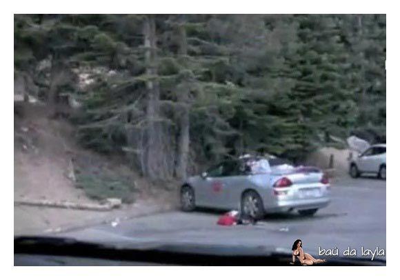 O que um urso faminto pode fazer com o seu carro