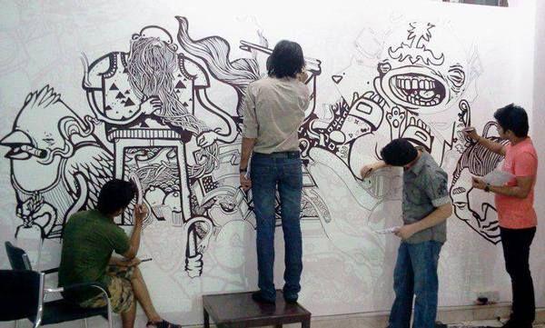 Wall Art / Wall Murals By Dashang Tiwari, Via Behance Part 70