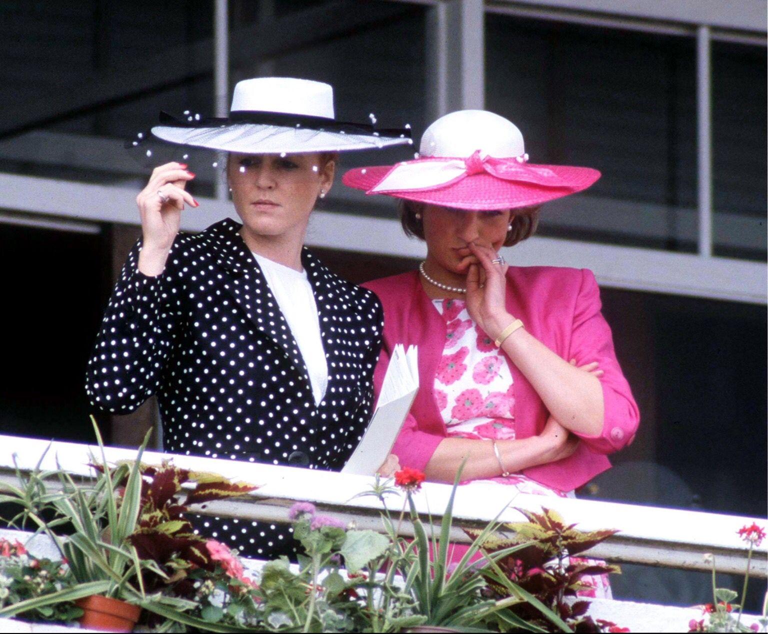 Princess Diana And Duchess of York 1987 Sarah duchess of