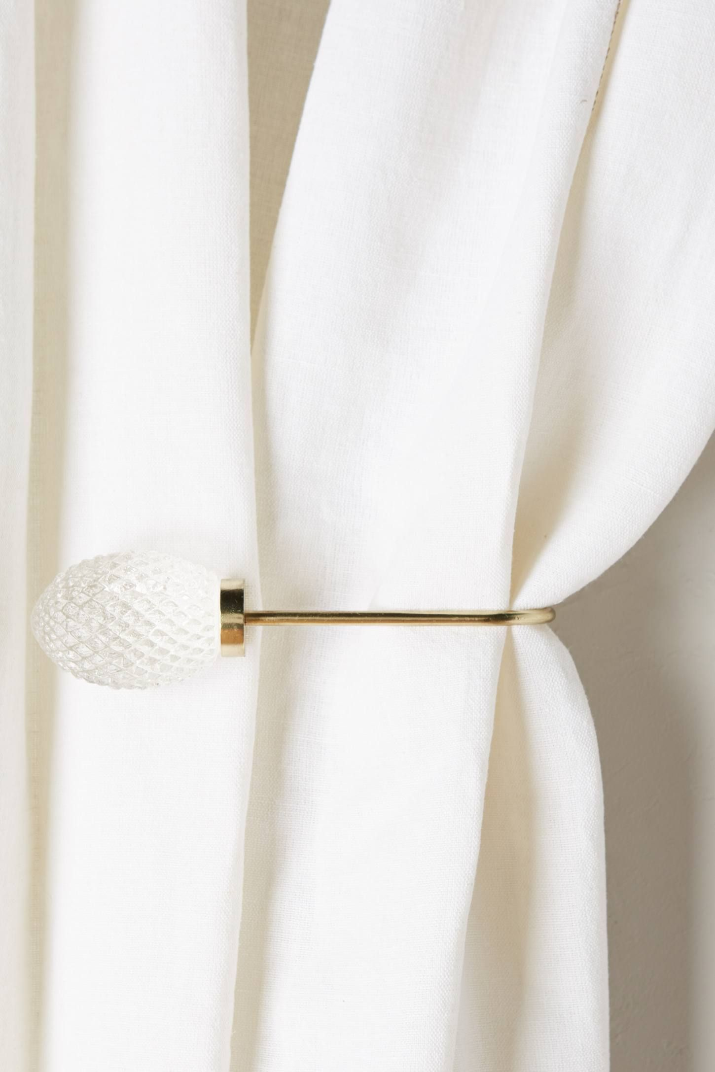 Quilted Glass Tieback Tieback Unique Curtains Curtains