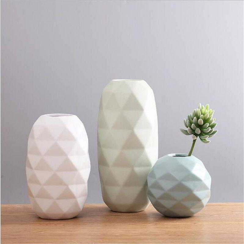 scandinavian minimalist modern desktop flower arranging simple