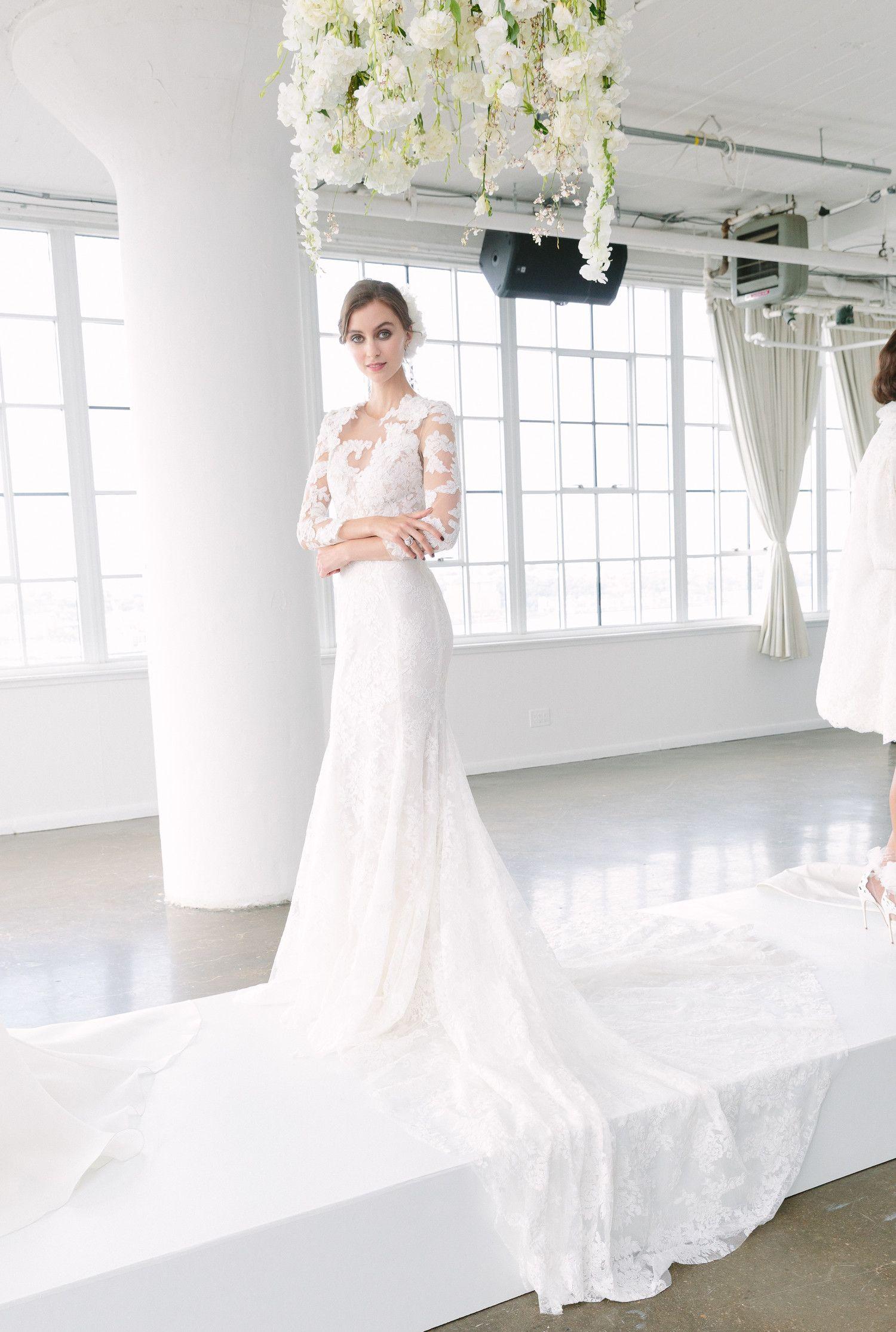 Marchesa fall wedding dress collection pinterest marchesa