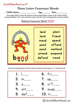 blended words | English Phonics | Pinterest