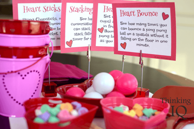Valentine's Day Games- fun for Valentine's Day classroom parties or family game nights. Minute…