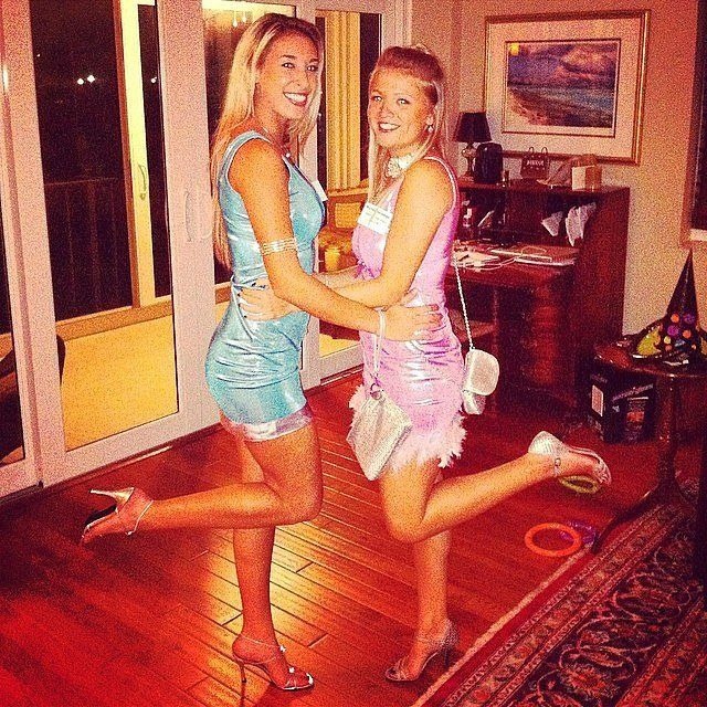 Romy and Michele Costumes, Halloween costumes and Duo costumes - womens halloween ideas