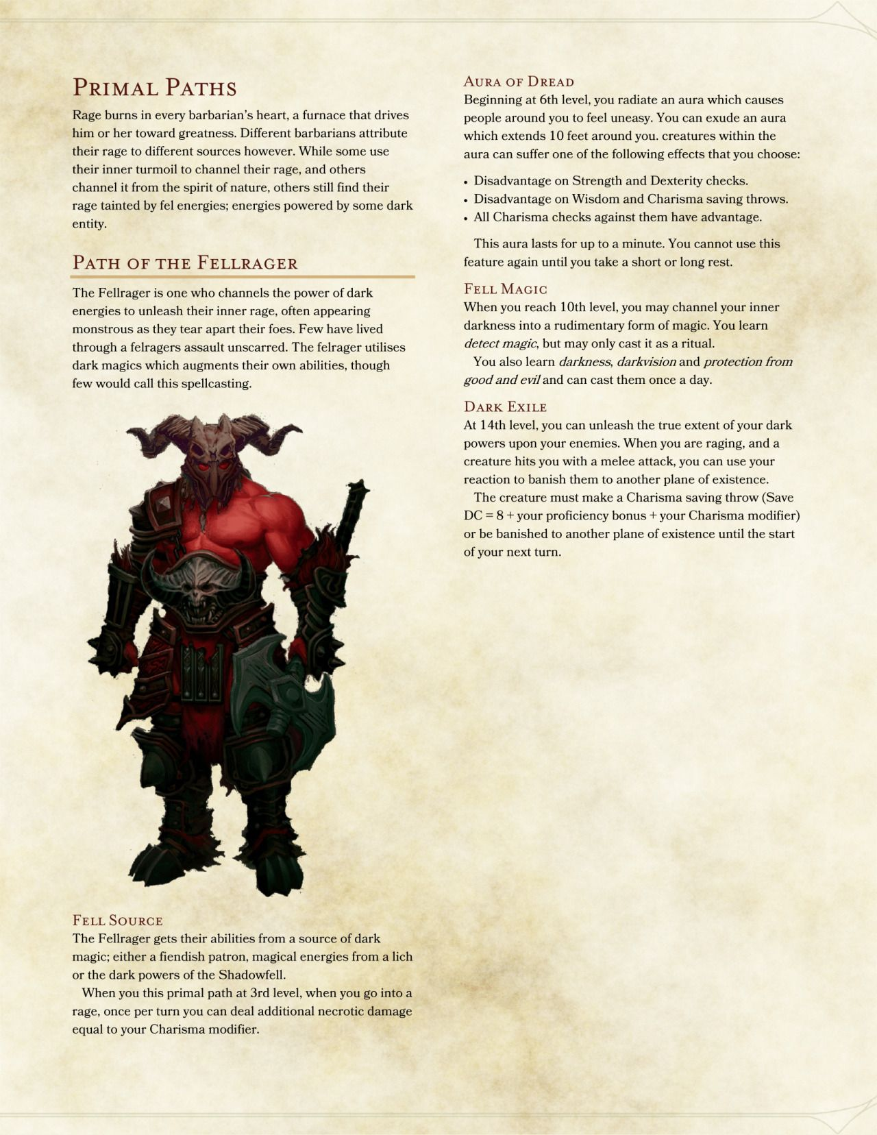 Dnd 5e Homebrew Of Bloodied Fist Monk - Year of Clean Water