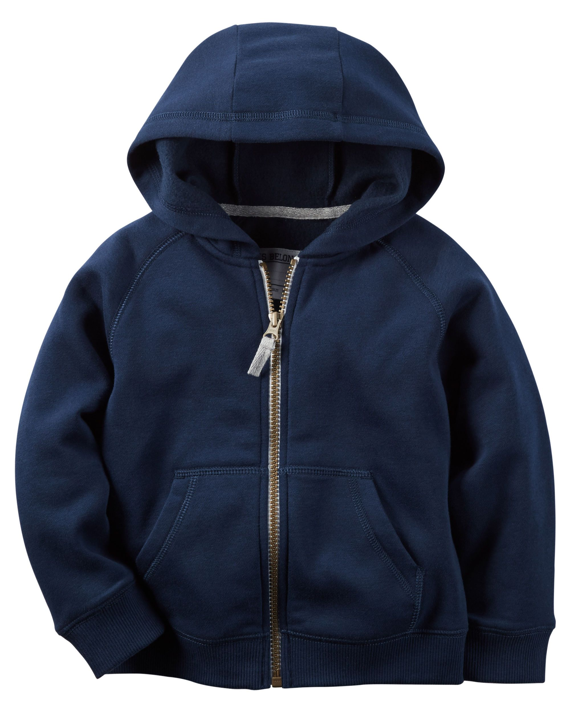 Fleece zipup hoodie canada shops and kid