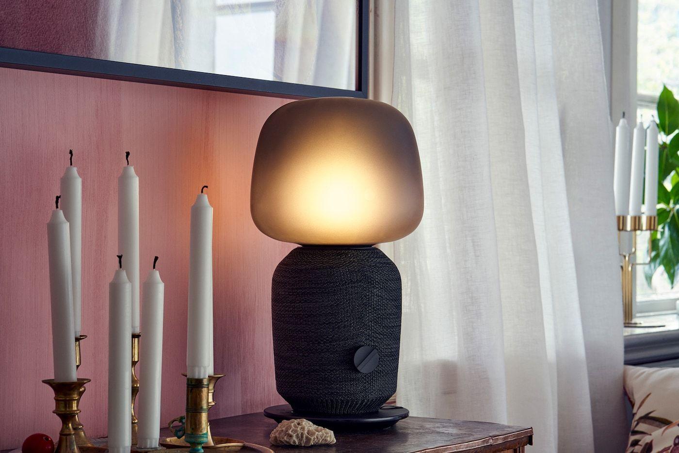 Ikea Symfonisk Wie Klingt Das Sound System Avec Images Ikea Lampes De Table Deco