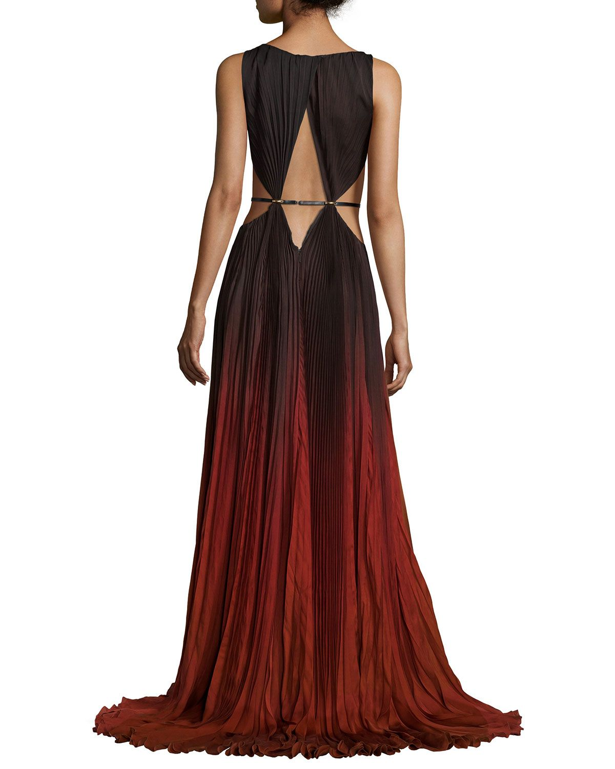 Red ombre gown vestidos matizados pinterest ombre gown red
