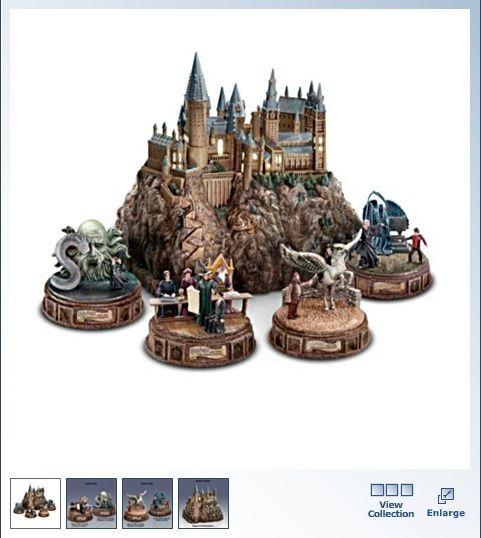 harry potter christmas village bing images