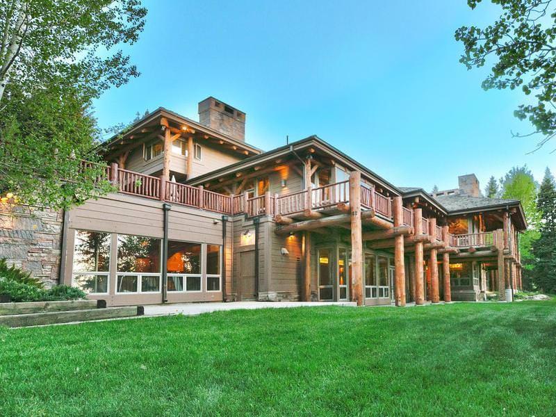 Log Home Mansion