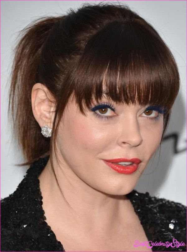 Nice Haircuts For Big Faces Best Celebrity Style Pinterest Big