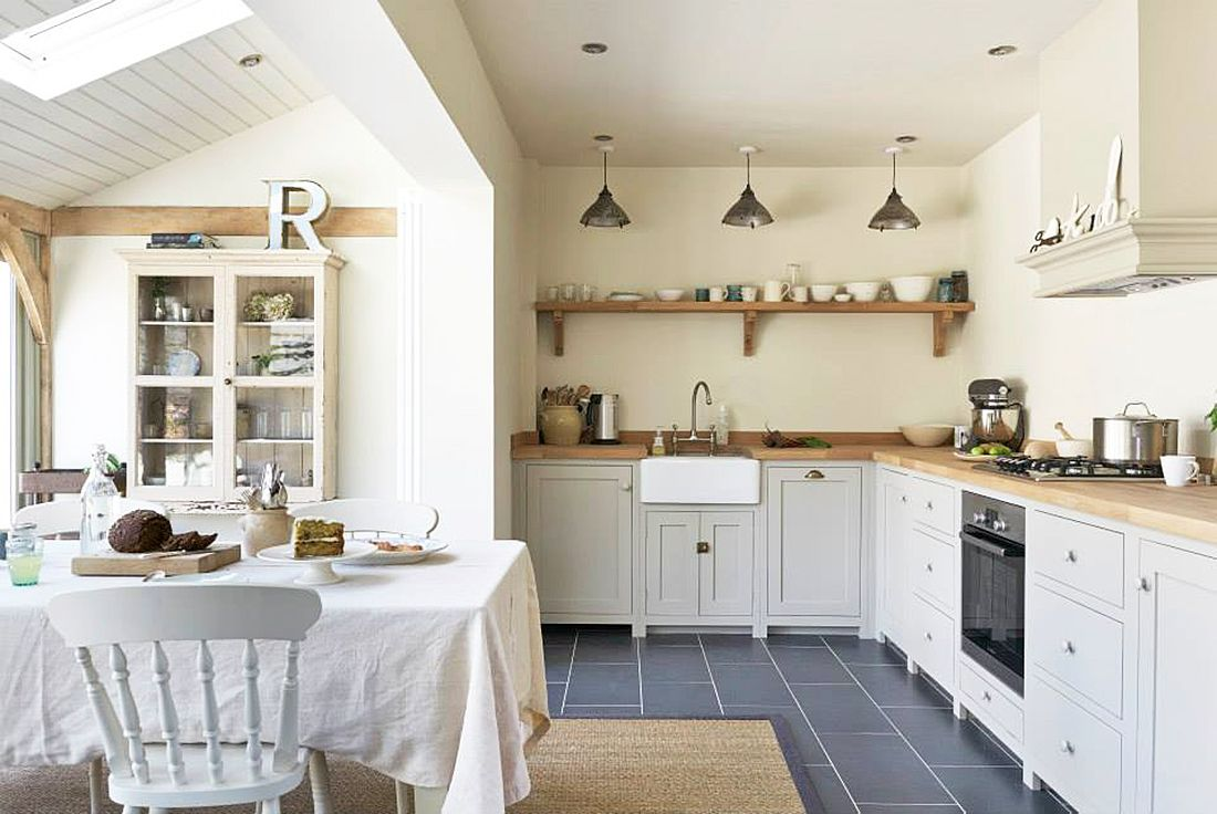 cocinas vintage chic - Buscar con Google | cocinas vintage y otras ...