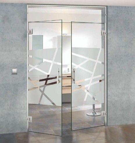 Puertascorrederas de interior de vidrio a medida for Vidrios opacos para puertas
