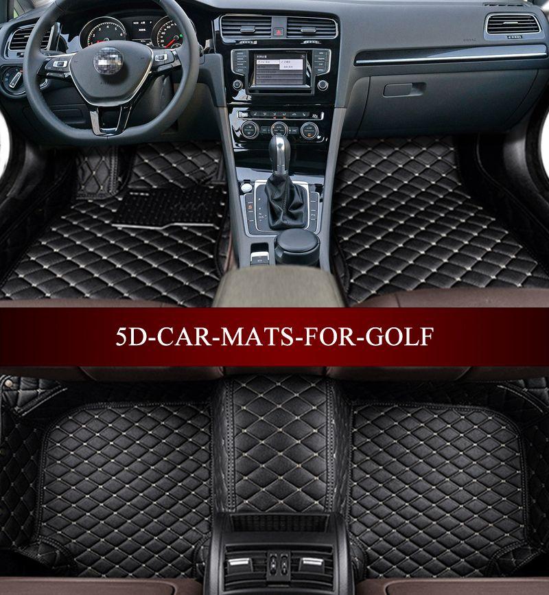 Car Floor Mats For Volkswagen Golf E Golf R Gti Gli 5th 6th 7th 2004 2017hatchback 5d Waterproof Custom Volkswagen Phaeton Volkswagen Touran Volkswagen Touareg