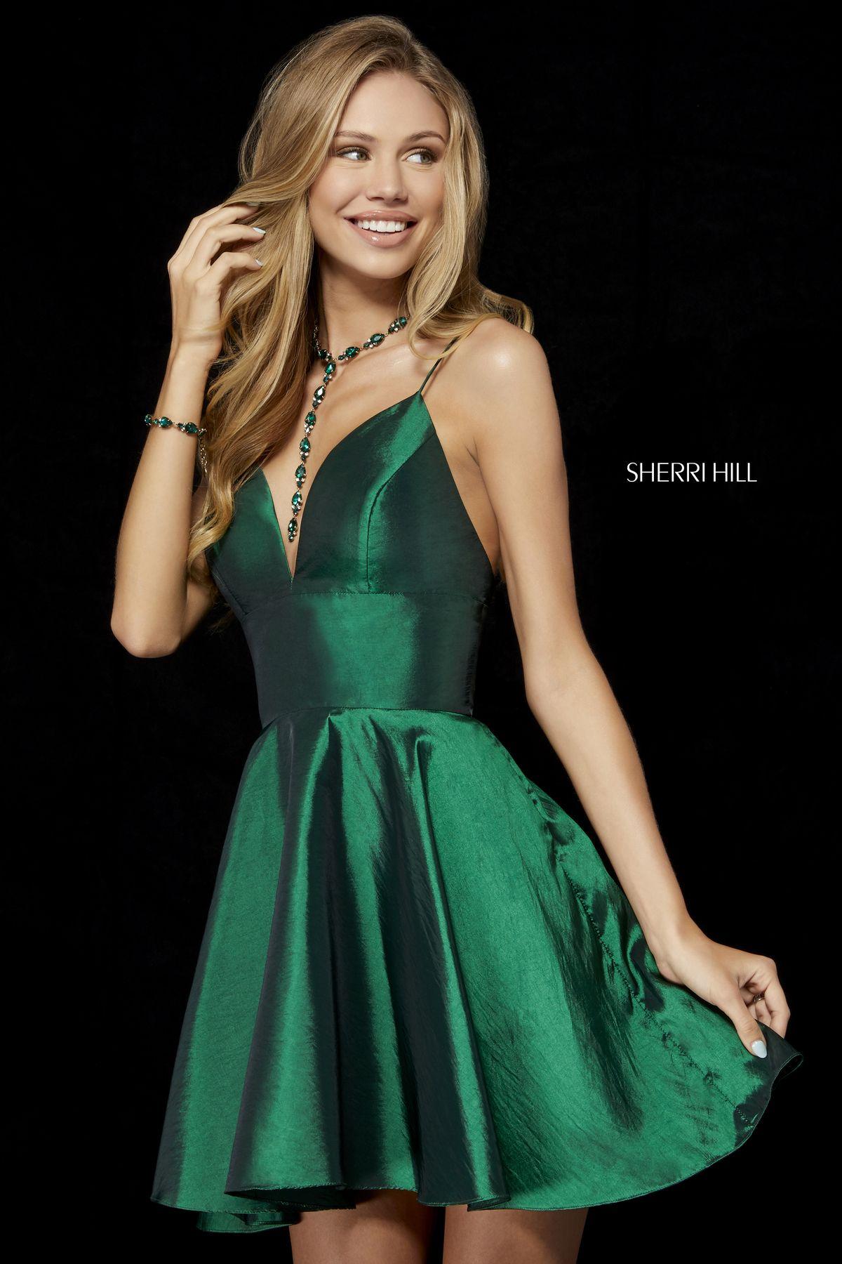 bc62fef5e28 Sherri Hill 52155 Emerald