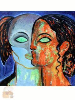 amanda lear PEINTURE - Recherche Google   Peinture