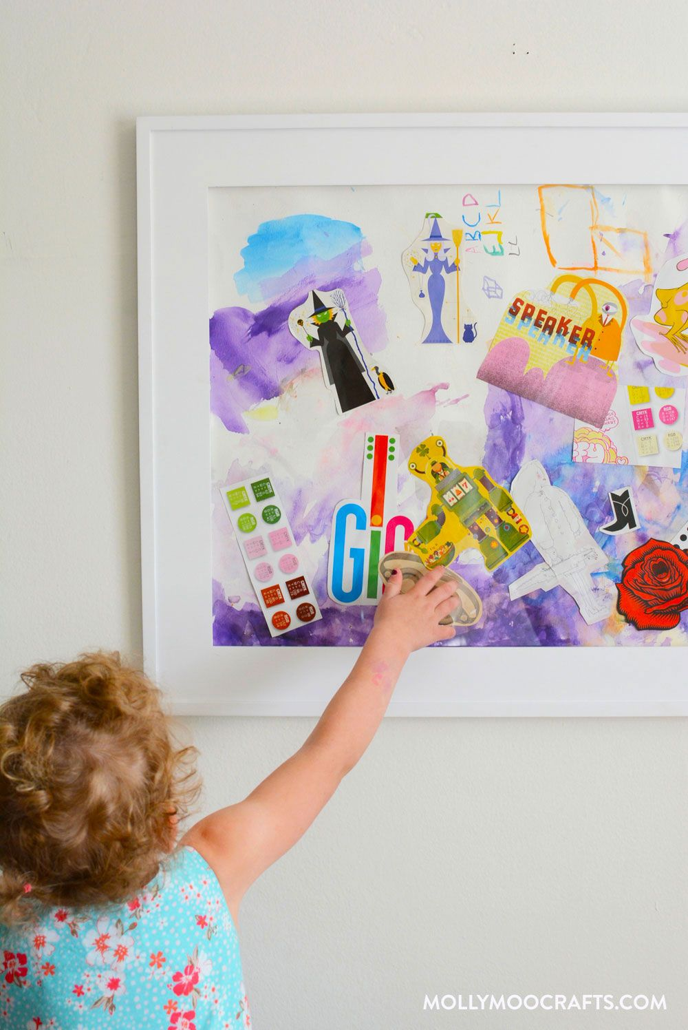 Fun Art Project For Kids: Mixed Media Collage | Pinterest | Mixed ...