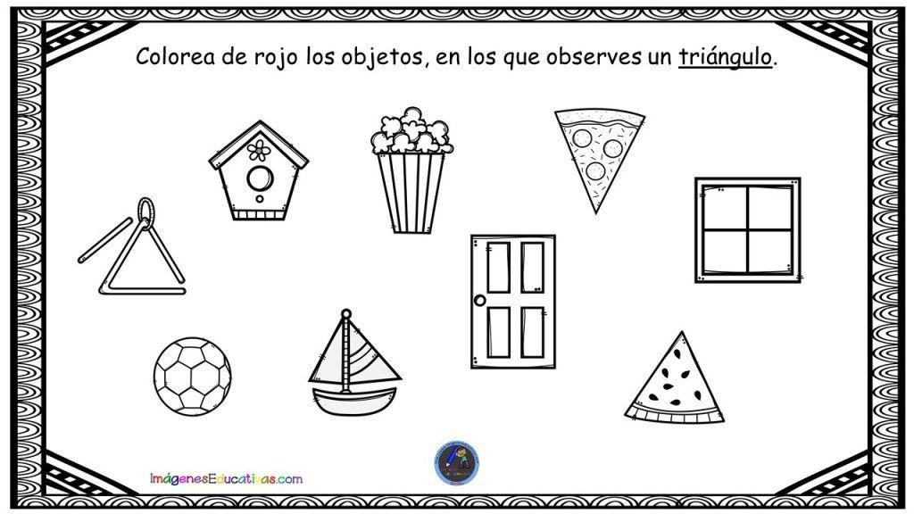 Reconocimiento De Figuras Geometricas En Objetos Reales Objetos Geometrico Figuras Geometricas