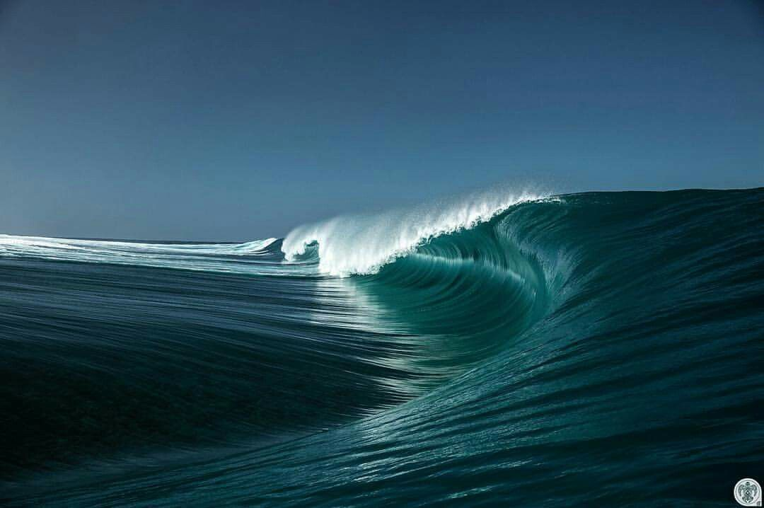 2714J non tissé-Papier Peint-Night Sea Waves scène Photo murale-Stormy Océan